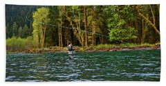 On The River Hand Towel