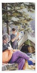 On Tulequoia Shore Hand Towel
