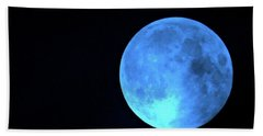 Once In A Blue Moon Hand Towel
