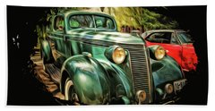 One Cool 1937 Studebaker Sedan Bath Towel