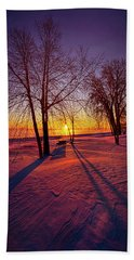 Hand Towel featuring the photograph One Day Closer by Phil Koch