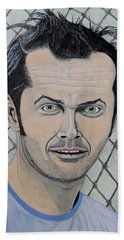 One Flew Over The Cuckoo's Nest. Bath Towel by Ken Zabel