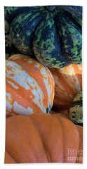 One Good Gourd Deserves Another Hand Towel by Patricia E Sundik