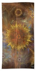 One Ring To Rule Them All Bath Towel by John Robert Beck