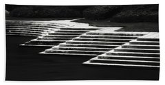 Bath Towel featuring the photograph One Step At A Time by Eduard Moldoveanu