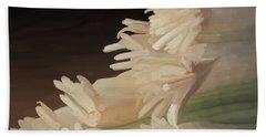 Onions 01 Bath Towel by Wally Hampton