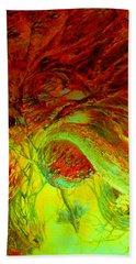Oniristic Space Bath Towel by Henryk Gorecki