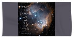 Only In Darkness Bath Towel