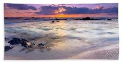 O'oma Beach Sunset Bath Towel