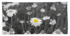 Bath Towel featuring the photograph Oopsy Daisy by Benanne Stiens