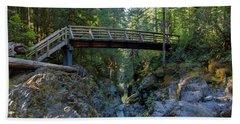 Opal Creek Bridge Hand Towel