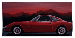 Opel Gt 1969 Painting Bath Towel