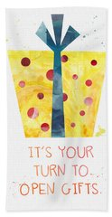 Open Gifts- Card Hand Towel