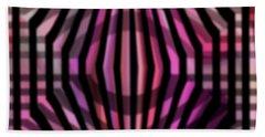 Bath Towel featuring the digital art Open by Mihaela Stancu