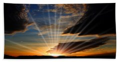 Bath Towel featuring the photograph Open Sky by Jennifer Muller