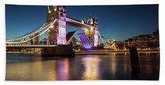 Open Tower Bridge London  Bath Towel