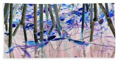 Mangrove Shoreline No. 2 Bath Towel