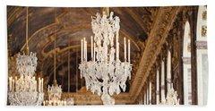 Opulence - Versailles, France Bath Towel