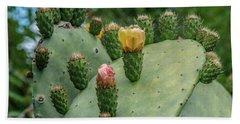 Opuntia Cactus Bath Towel