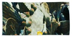 Opuntia Ficus Bath Towel