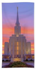 Oquirrh Mountain Temple IIi Hand Towel