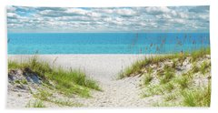 Hand Towel featuring the photograph Orange Beach Al Seascape 1086a by Ricardos Creations