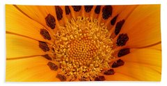 Orange Burst - Daisy Hand Towel