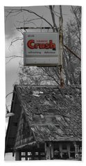 Orange Crush 2 Hand Towel by Ansel Price