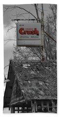 Orange Crush 2 Bath Towel by Ansel Price