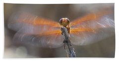 Dragonfly 4 Bath Towel