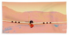 Orange Dream Sailplane Bath Towel