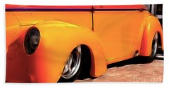 Orange Rush - 1941 Willy's Coupe Hand Towel