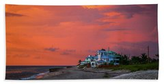 Orange Sky Beach House Hand Towel