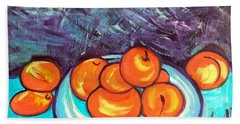 Oranges Bath Towel