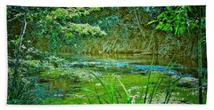 Bath Towel featuring the photograph Orara River by Wallaroo Images