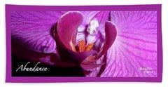 Orchid Abundance Hand Towel