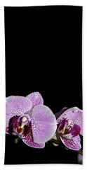 Orchid Blooms Hand Towel