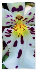 Orchid Cross Bath Towel