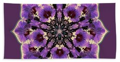 Orchid Lotus Hand Towel