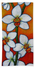Orchid Oasis Hand Towel