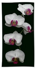 Orchid Sequence  Bath Towel