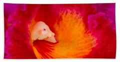 Orchid Vortex 458 Hand Towel