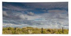 Oregon Clouds Bath Towel
