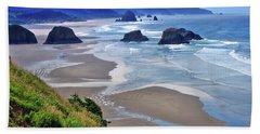 Oregon Coast Hand Towel by Scott Mahon