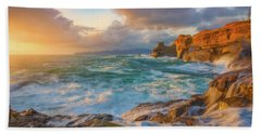 Hand Towel featuring the photograph Oregon Coast Wonder by Darren White