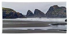 Oregon Tide Hand Towel