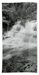 Oregon Waterfall Hand Towel by Tyra OBryant