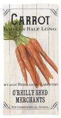 Organic Seed Packet 2 Hand Towel by Debbie DeWitt