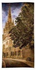Oxford, England - Oriel Street Hand Towel