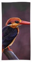 Oriental Dwarf Kingfisher Hand Towel